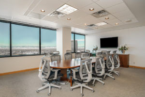 temporary office space Denver Tech Center meeting rooms